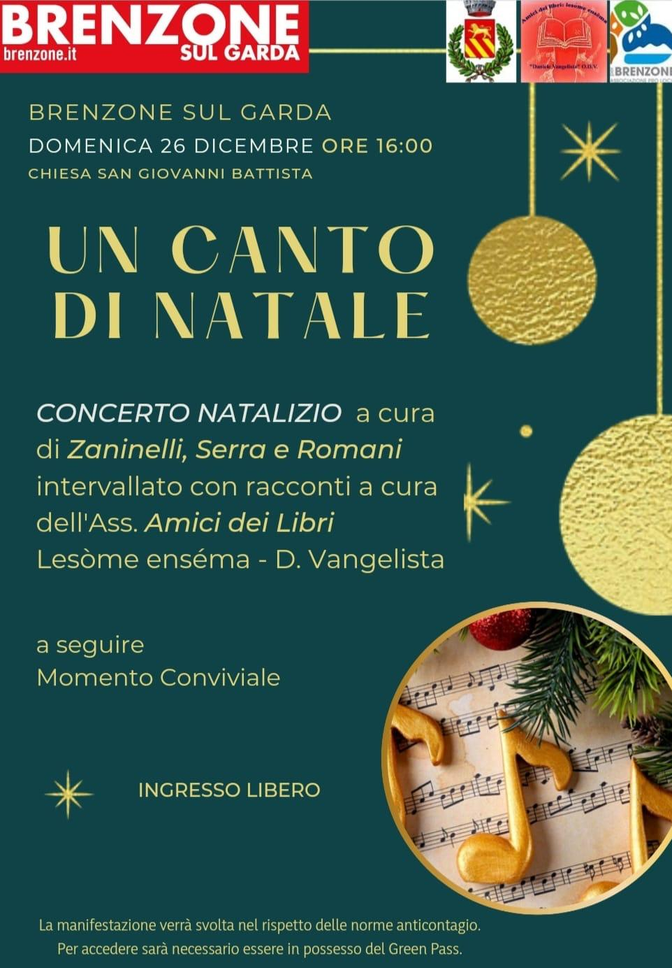 Coro: Canto di Natale - Chor: Weihnachtslied - Chorus: Christmas carol
