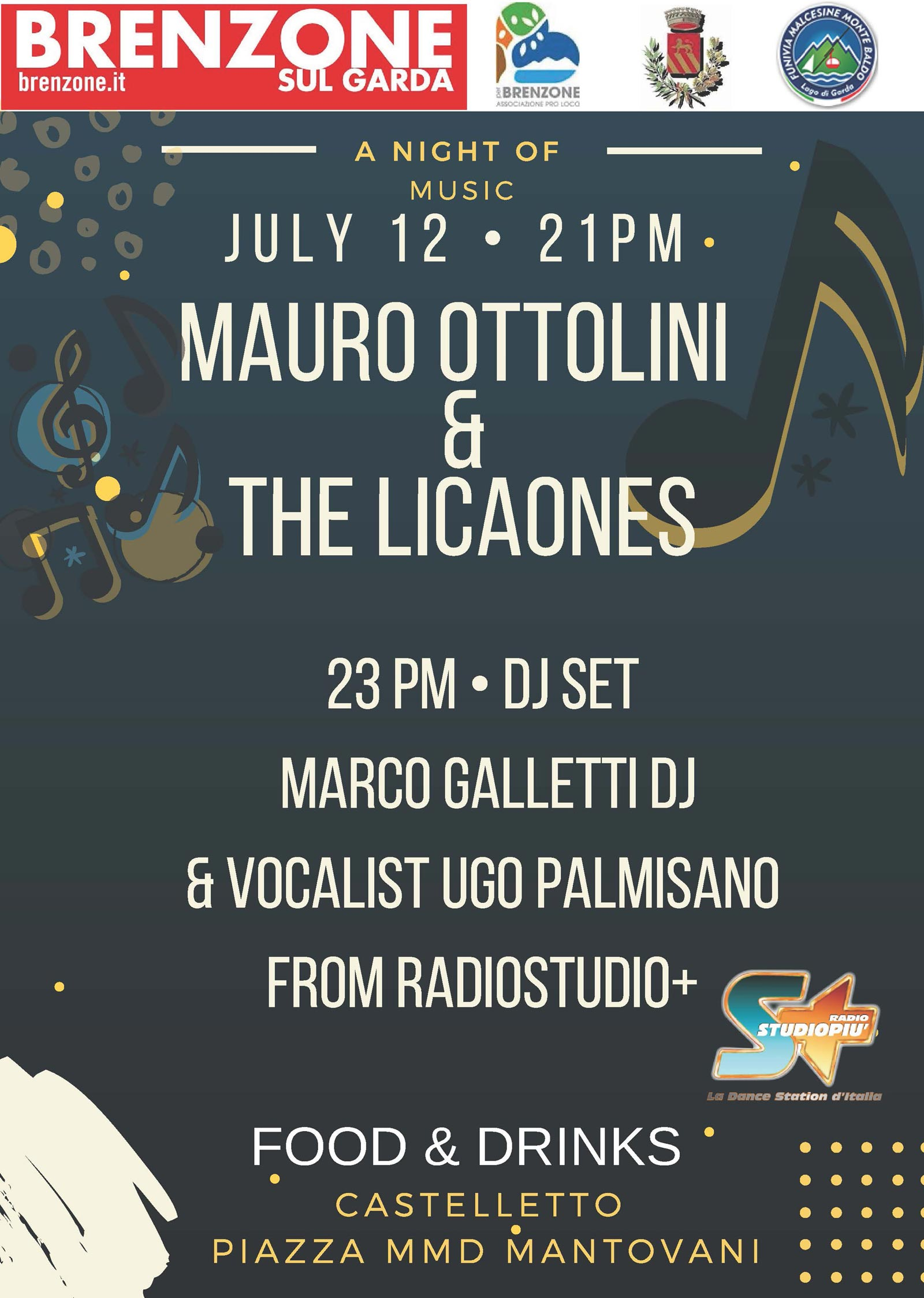 A night of misic with Mauro Ottolini on 12.07.2018